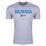 Russia Euro 2016 Men's Fashion T-Shirt (Grey