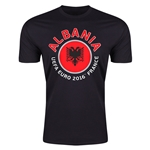 Albania Euro 2016 Men's Fashion T-Shirt (Black)