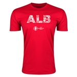 Albania Euro 2016 Men's Elements T-Shirt (Red)