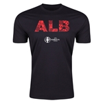 Albania Euro 2016 Men's Elements T-Shirt (Black)