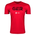 Germany Euro 2016 Men's Elements T-Shirt (Red)