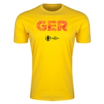 Germany Euro 2016 Men's Elements T-Shirt (Yellow)
