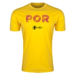 Portugal Euro 2016 Men's Elements T-Shirt (Yellow)