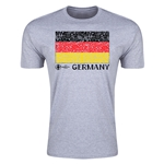 Germany Euro 2016 Men's Fashion T-Shirt (Grey)