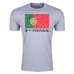 Portugal Euro 2016 Men's Fashion T-Shirt (Grey)