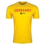 Germany Euro 2016 Men's Fashion T-Shirt (Yellow)