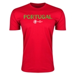 Portugal Euro 2016 Men's Fashion T-Shirt (Red)
