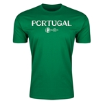 Portugal Euro 2016 Men's Fashion T-Shirt (Green)