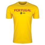 Portugal Euro 2016 Men's Fashion T-Shirt (Yellow)