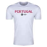 Portugal Euro 2016 Men's Fashion T-Shirt (White)