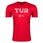 Turkey Euro 2016 Men's Elements T-Shirt (Red)