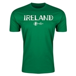 Ireland Euro 2016 Men's Fashion T-Shirt (Green)