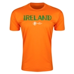 Ireland Euro 2016 Men's Fashion T-Shirt (Orange)