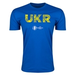 Ukraine Euro 2016 Men's Elements T-Shirt (Royal)