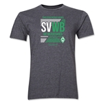 Werder Bremen SVWB Men's Fashion T-Shirt (Dark Gray)