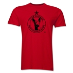 Xolos de Tijuana Men's Premium Distressed T-Shirt (Red)