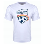 Adelaide United Poly T-Shirt (White)
