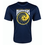 Central Coast Mariners Poly T-Shirt (Navy)