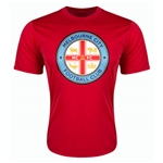 Melbourne City Poly T-Shirt (Red)