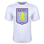 Aston Villa Moisture Wicking Poly T-Shirt (White)