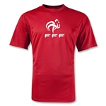 France FFF Poly T-Shirt (Red)
