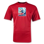 FIFA U-20 World Cup Turkey 2013 Wicking Poly Emblem T-Shirt (Red)