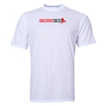 Grassroot Soccer Poly T-Shirt (White)