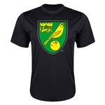 Norwich City Core Poly T-Shirt (Black)