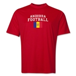 Andorra Football Training T-Shirt (Red)