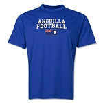 Anguilla Football Training T-Shirt (Royal)