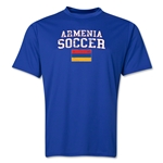 Armenia Soccer Training T-Shirt (Royal)