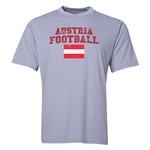 Austria Football Training T-Shirt (Grey)