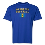 Barbados Football Training T-Shirt (Royal)