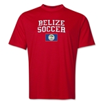 Belize Soccer Training T-Shirt (Red)