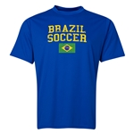 Brazil Soccer Training T-Shirt (Royal)