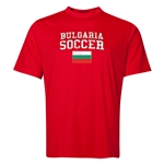 Bulgaria Soccer Training T-Shirt (Red)
