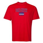 Cape Verde Football Training T-Shirt (Red)