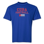Cuba Football Training T-Shirt (Royal)