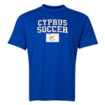 Cyprus Soccer Training T-Shirt (Royal)