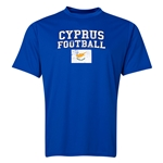 Cyprus Football Training T-Shirt (Royal)