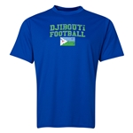 Djibouti Football Training T-Shirt (Royal)