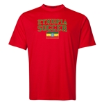 Ethiopia Soccer Training T-Shirt (Red)