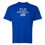 Fiji Football Training T-Shirt (Royal)