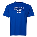 Finland Football Training T-Shirt (Royal)