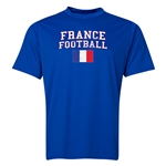 France Football Training T-Shirt (Royal)