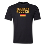 Germany Soccer Training T-Shirt (Black)