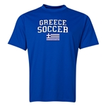 Greece Soccer Training T-Shirt (Royal)