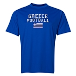 Greece Football Training T-Shirt (Royal)
