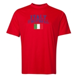 Italy Football Training T-Shirt (Red)