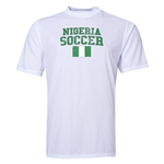 Nigeria Soccer Training T-Shirt (White)